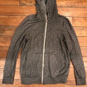 Zine men's small zip up hoodie